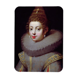 Portrait of a Lady, said to be Marguerite de Valoi Rectangular Photo Magnet