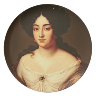 Portrait of a Lady, said to be Marie-Anne Mancini Dinner Plates