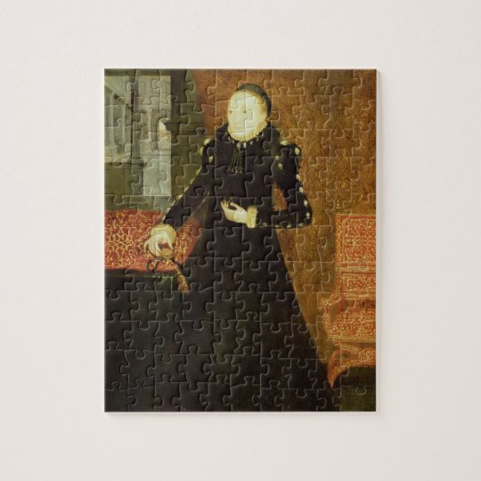 Portrait of a Lady, thought to be Katherine, Duche Jigsaw Puzzle