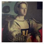Portrait of a lady tiles