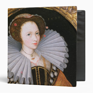 Portrait of a Lady with a Large Ruff 3 Ring Binder