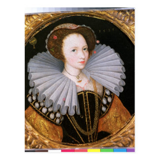Portrait of a Lady with a Large Ruff Postcard
