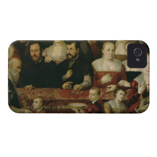Portrait of a Large Family iPhone 4 Case-Mate Case