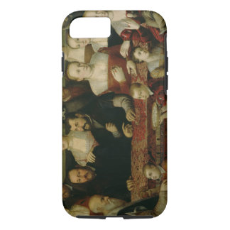 Portrait of a Large Family iPhone 8/7 Case