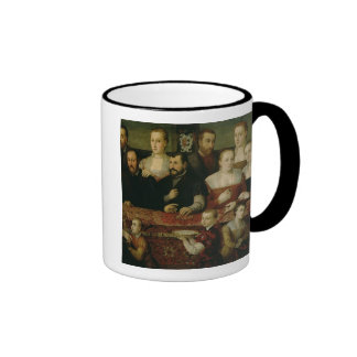 Portrait of a Large Family Mugs