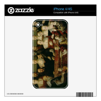 Portrait of a Large Family Skin For The iPhone 4S