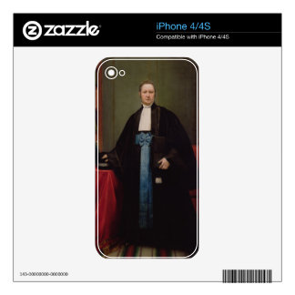 Portrait of a Lawyer in his Library, 1852 (oil on iPhone 4 Decals