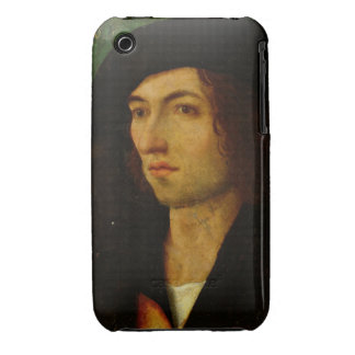 Portrait of a Man, 1506 (oil on panel) iPhone 3 Case-Mate Case