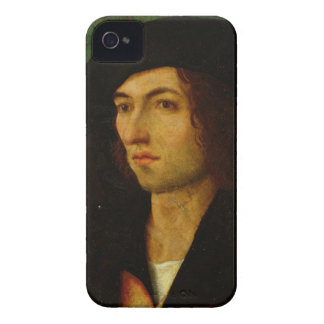 Portrait of a Man, 1506 (oil on panel) iPhone 4 Case-Mate Case