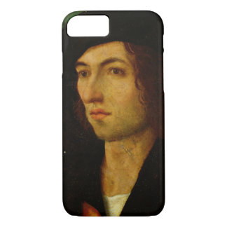 Portrait of a Man, 1506 (oil on panel) iPhone 7 Case