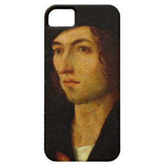 Portrait of a Man, 1506 (oil on panel) iPhone SE/5/5s Case