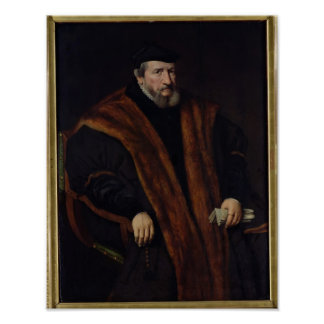 Portrait of a Man, 1564 Poster