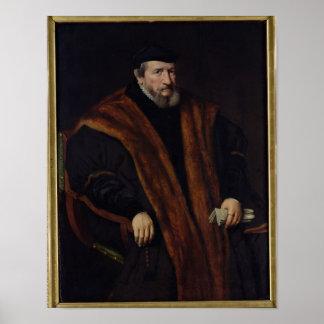 Portrait of a Man, 1564 Poster
