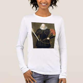 Portrait of a Man, 1593 (oil on panel) Long Sleeve T-Shirt