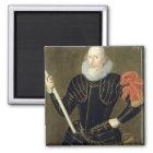Portrait of a Man, 1593 (oil on panel) Magnet