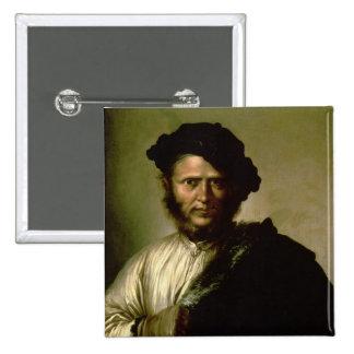 Portrait of a Man, 1640 Pinback Button