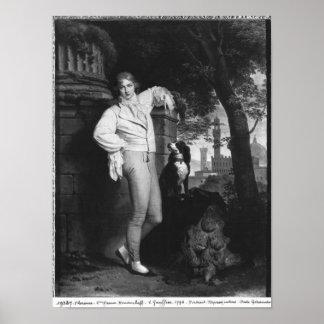 Portrait of a Man, 1796 Poster