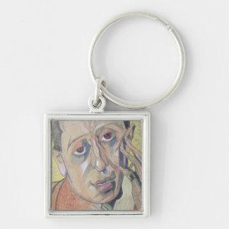 Portrait of a man, 1924 keychain