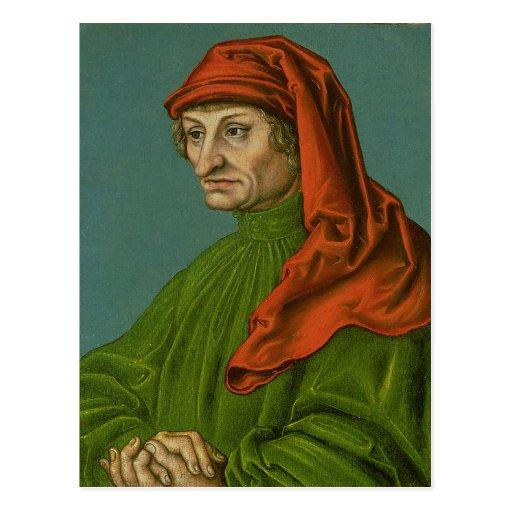 Portrait of a Man 2 Postcard