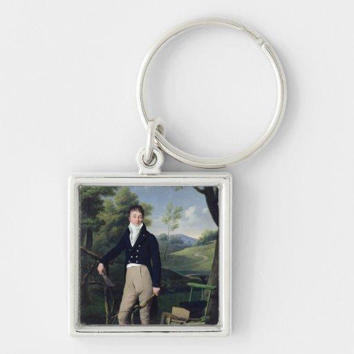 Portrait of a Man 3 Key Chains