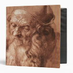 Portrait of a man, aged ninety-three, 1521 vinyl binders