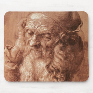 Portrait of a man, aged ninety-three, 1521 mouse pad