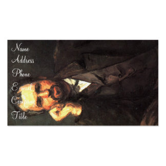 'Portrait of a Man' Double-Sided Standard Business Cards (Pack Of 100)