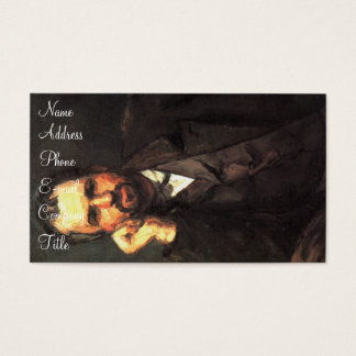 'Portrait of a Man' Business Card