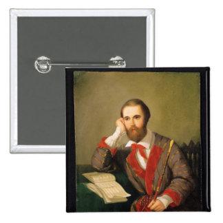 Portrait of a Man Pins