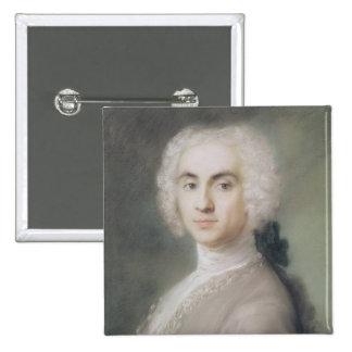 Portrait of a Man 2 Inch Square Button