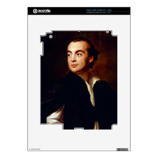 Portrait of a man by Anton Raphael Mengs Skins For The iPad 2