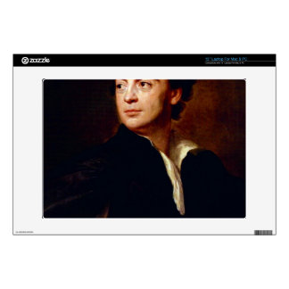 Portrait of a man by Anton Raphael Mengs Skins For Laptops