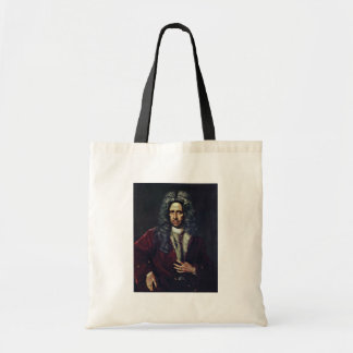 Portrait Of A Man By Kupecký Jan (Best Quality) Canvas Bags