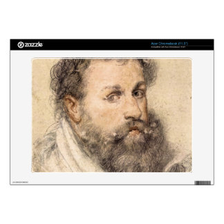 Portrait of a Man by Paul Rubens Acer Chromebook Decal