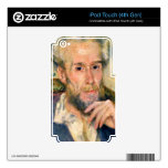 Portrait of a man by Pierre Renoir Skins For iPod Touch 4G