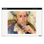 "Portrait of a man by Pierre Renoir Decal For 14"" Laptop"