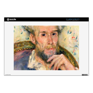 "Portrait of a man by Pierre Renoir Skins For 13"" Laptops"