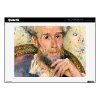 Portrait of a man by Pierre Renoir Acer Chromebook Decal