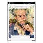 Portrait of a man by Pierre Renoir Xbox 360 Decal