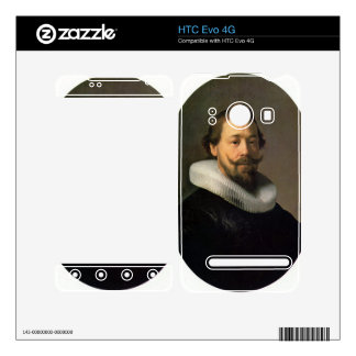 Portrait of a man by Rembrandt HTC Evo 4G Decal
