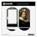 Portrait of a man by Rembrandt Decals For LG Spyder II