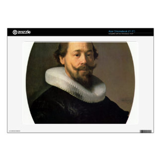 Portrait of a man by Rembrandt Skin For Acer Chromebook