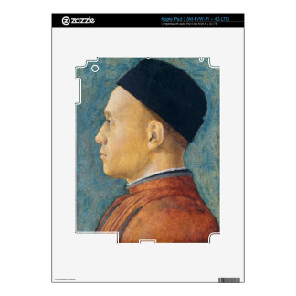 Portrait of a Man, c. 1470 (tempera on panel) Skins For iPad 3