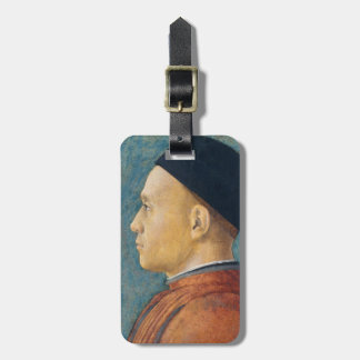 Portrait of a Man, c. 1470 (tempera on panel) Tag For Luggage