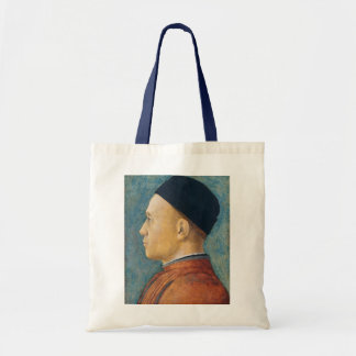 Portrait of a Man, c. 1470 (tempera on panel) Tote Bag