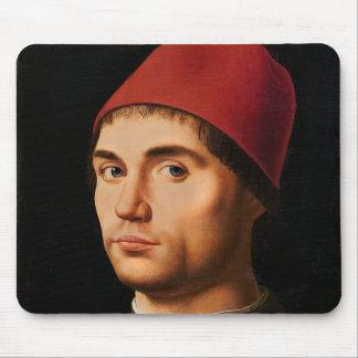 Portrait of a Man, c.1475 Mouse Pad