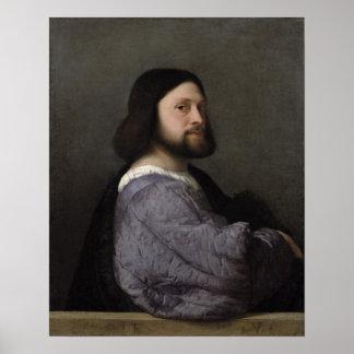 Portrait of a Man, c.1512 Poster