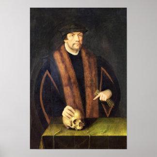 Portrait of a Man, c.1550 Posters