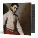 Portrait of a Man  c.1570 3 Ring Binder