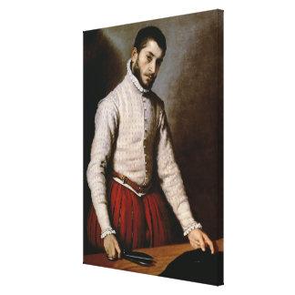Portrait of a Man  c.1570 Canvas Print